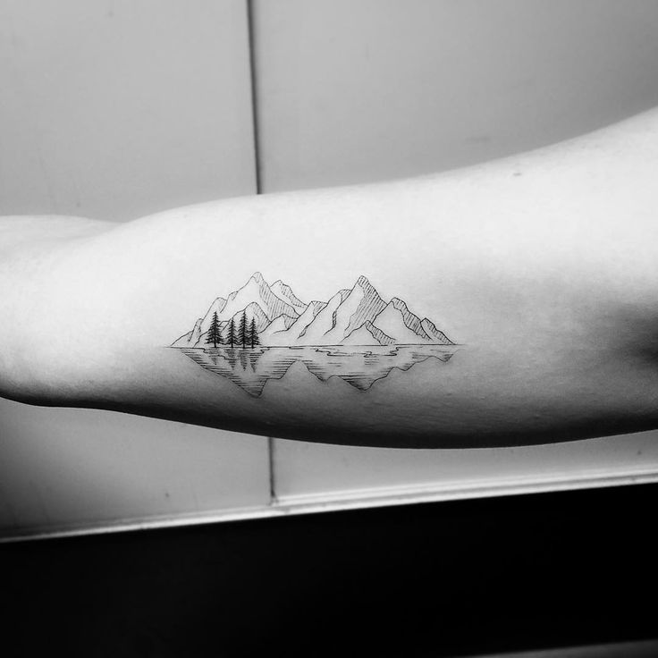 "Likes: 755, comments: 14 – JAY Shin (Jayganzi) (@jayshintattoo) on Instagram: ""Thank you Caitlin @caitmorri #mountains"""