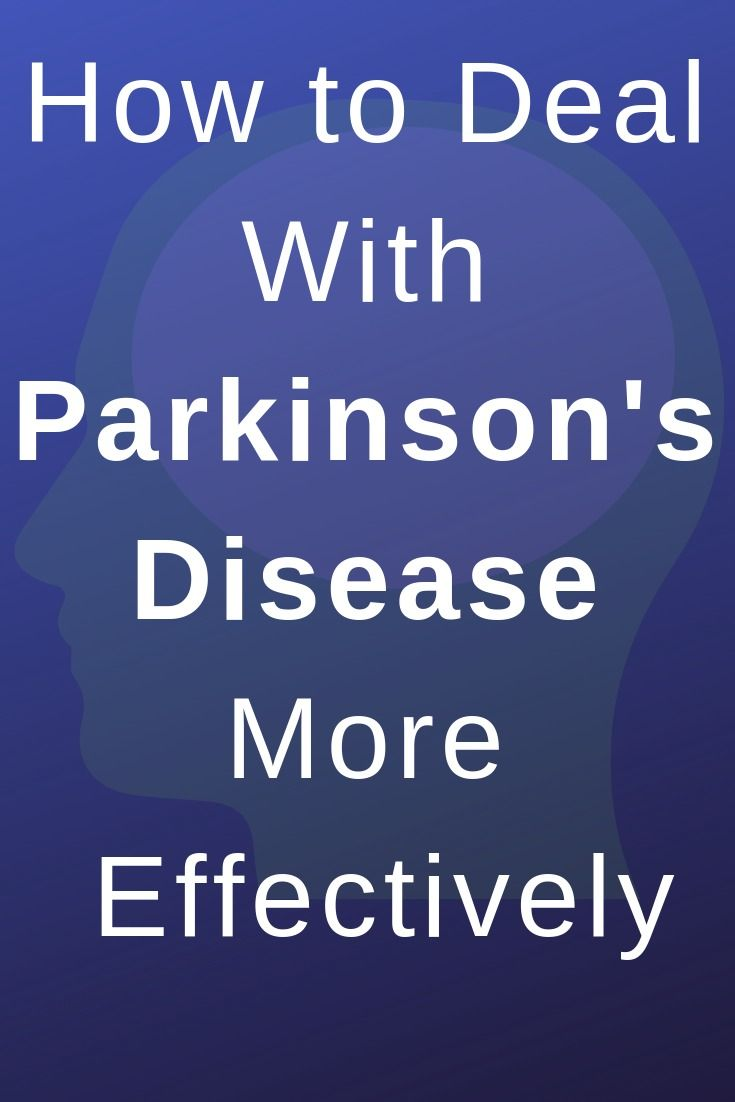 Find out here how you can deal with Parkinson's disease more effectively