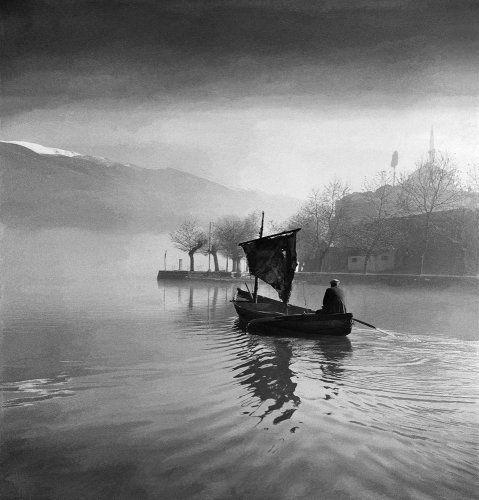 Λίμνη. Ιωάννινα, γύρω στα 1950 Βούλα Θεοχάρη Παπαϊωάννου - Μουσείο Μπενάκη