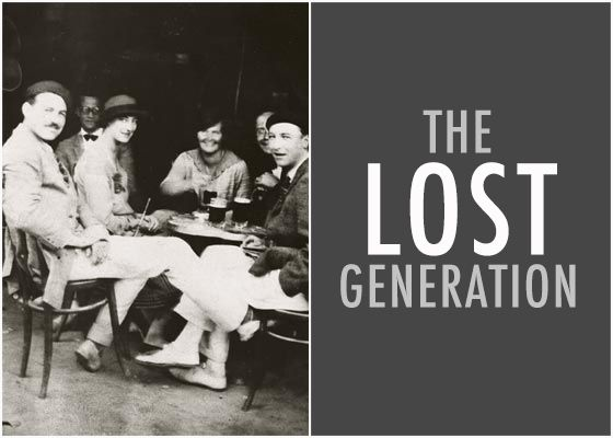 a look at the lost generation writers in the literary world Generation is the enduring term that has stayed associated with the writers of the 1920's the lost generation defines a sense of apparently moral loss in literary figures during the 1920's world war i seemed to have destroyed the idea that if you acted virtuously, good things would happen.