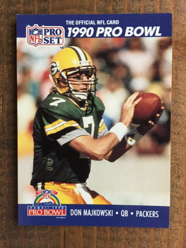 1990 pro set 401 don majkowski green bay packers