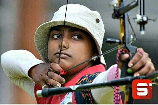 Do you know who this sportsperson is? Deepika Kumari is an Indian athlete who competes in the event of Archery, is currently ranked World No. 5, and is a former world number one. She won a gold medal in the 2010 Commonwealth games in the women's individual recurve event. She will represent India in Archery at the Rio Olympics. Sportido wishes her best of luck! #Sportido #Deepikakumari #archery #olympics #whatinspiresus