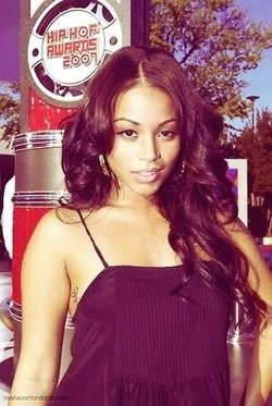 Lauren London's fly curls