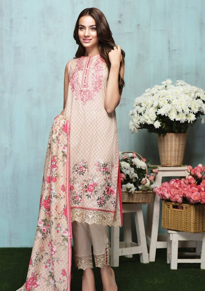 Latest Alkaram Lawn 2016 Summer Collection With Price | BestStylo.com