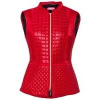 Buy Basler Red Padded Gilet With Check Stitch Detail, £86 from Women's Gilets range at #LaBijouxBoutique.co.uk Marketplace. Fast & Secure Delivery from House of Fraser online store.