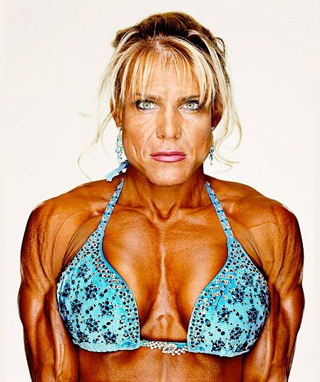 -Female Bodybuilders- series by Martin Schoeller