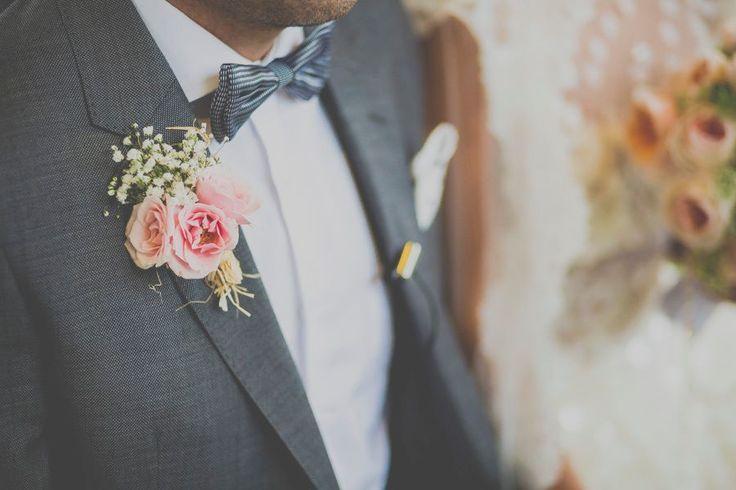 Un cuento de boda. Botonier vintage