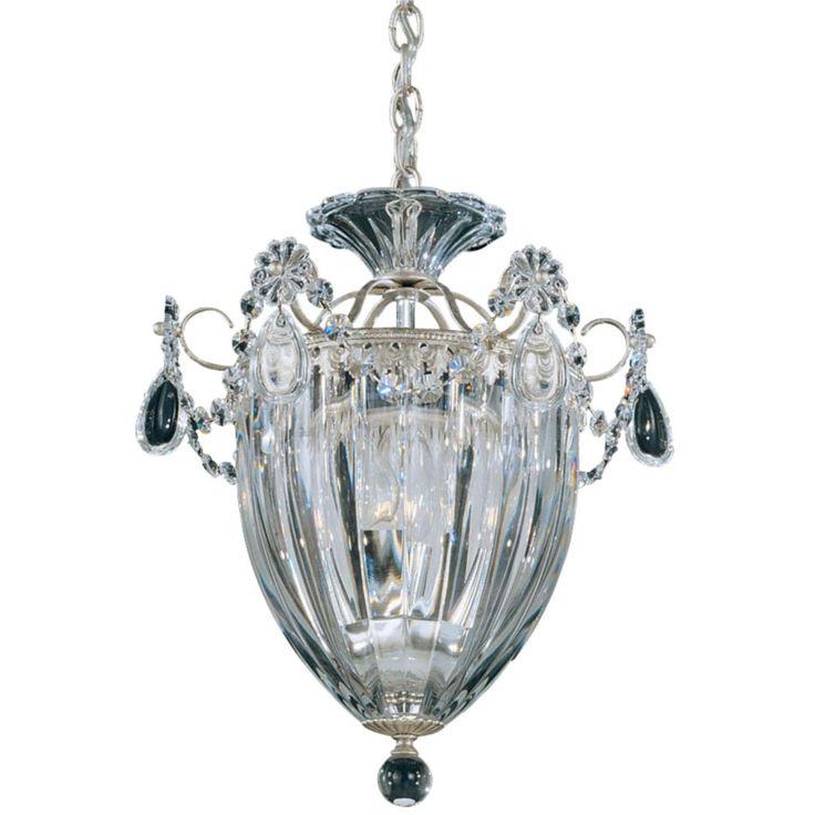 12.5 x 10.5  antique silver Bagatelle Pendant by Schonbek Lighting at Lumens.com
