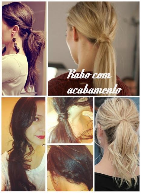 hair do / rabo de cavalo / penteado lindo