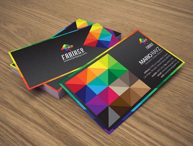 #colorful #businesscard #multicolor