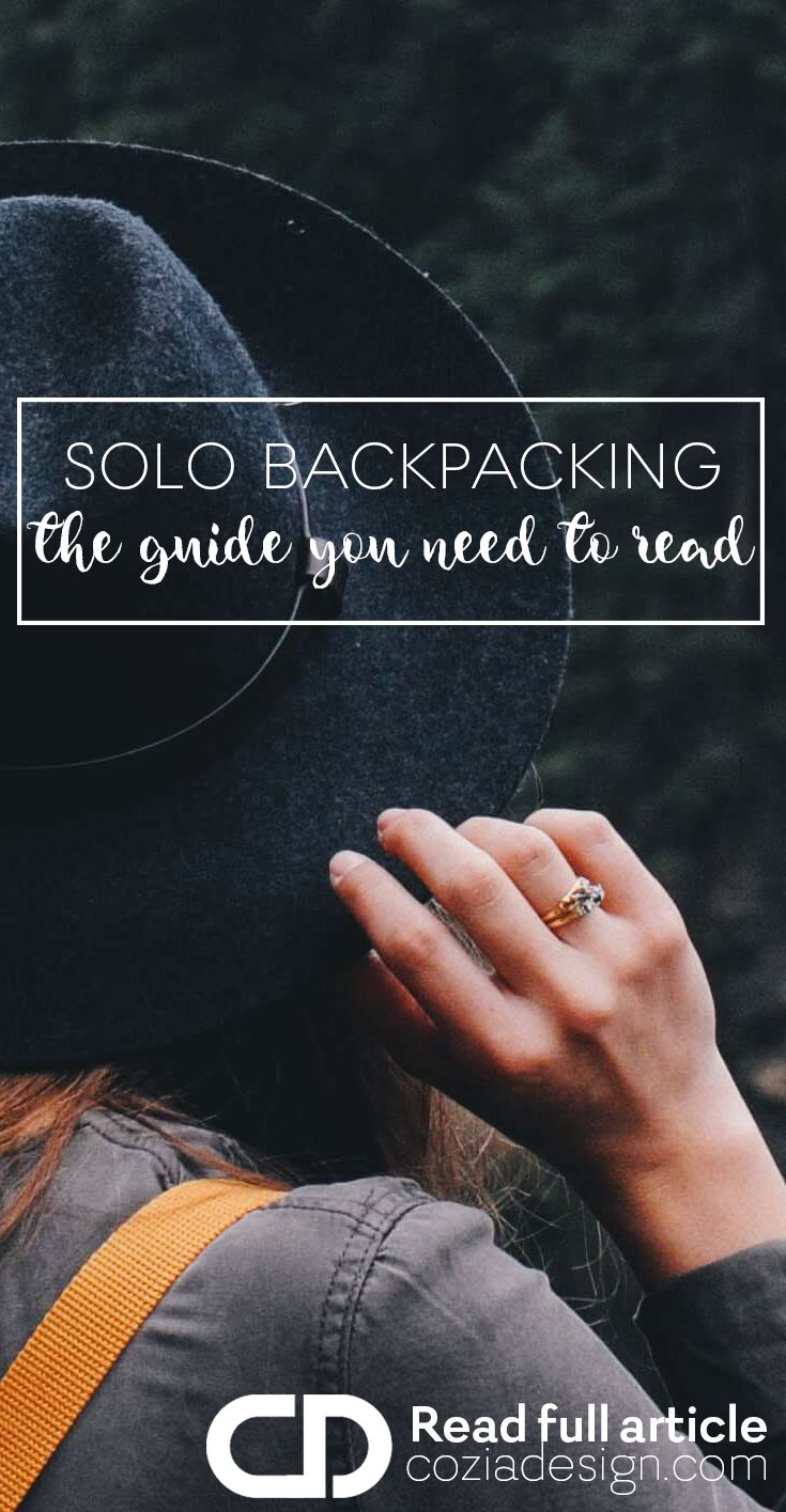 Solo backpacking is an experience that can transform you as a person. Traveling by yourself means you get to follow your intuition and do only what resonates with you.