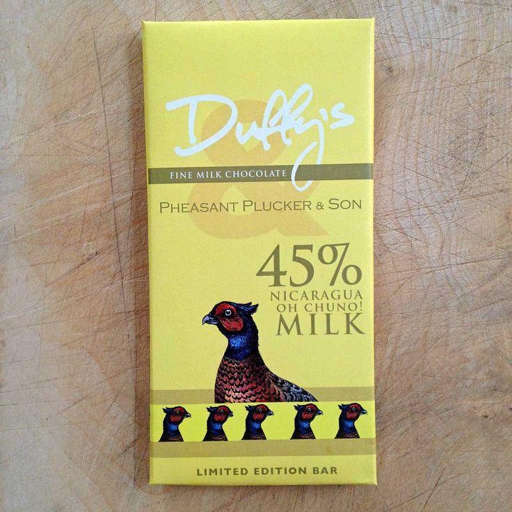 Duffy's Chocolate Nigaragua Oh Chuno! 45% milk chocolate