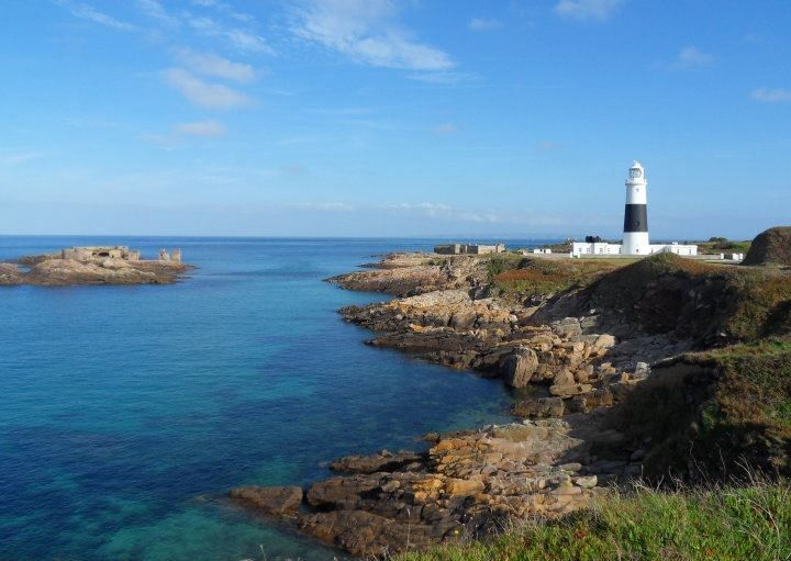 Mannez lighthouse on Alderney is well known to Channel Islands sailors | VisitAlderney