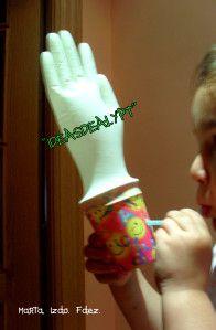 Soplo: Vaso-guante, vaso-confeti