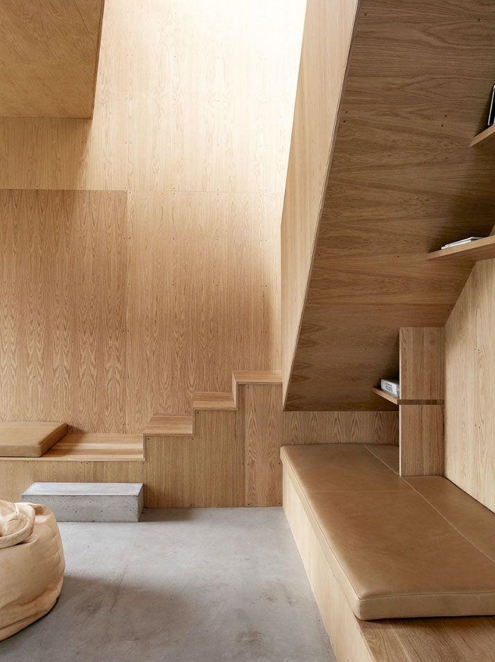 Match beton/ hout
