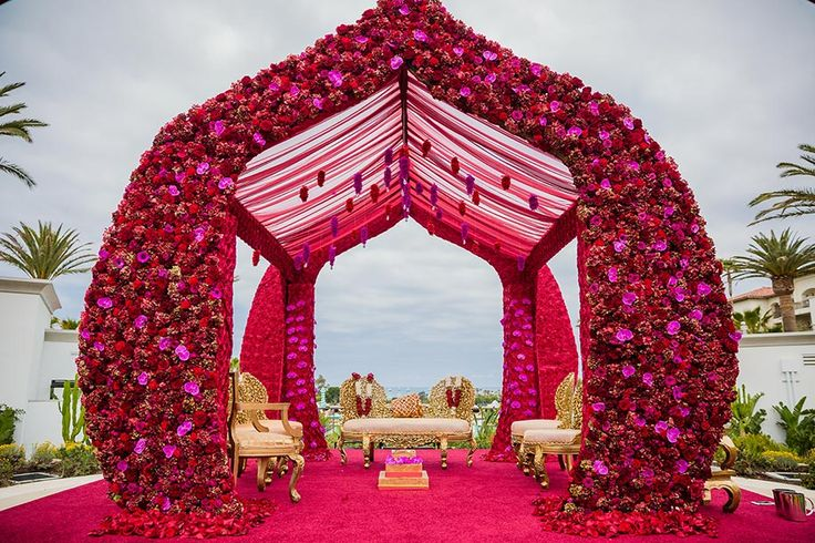 Megha and Nikhil | St. Regis Monarch Beach | California | WeddingSutra