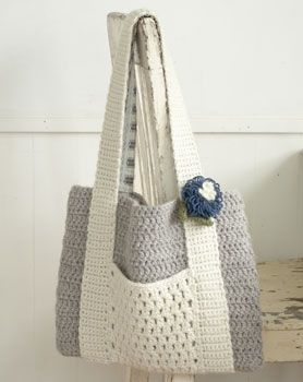 Love the idea of the handles with a pocket as separate piece from the bag. Inspiration only.