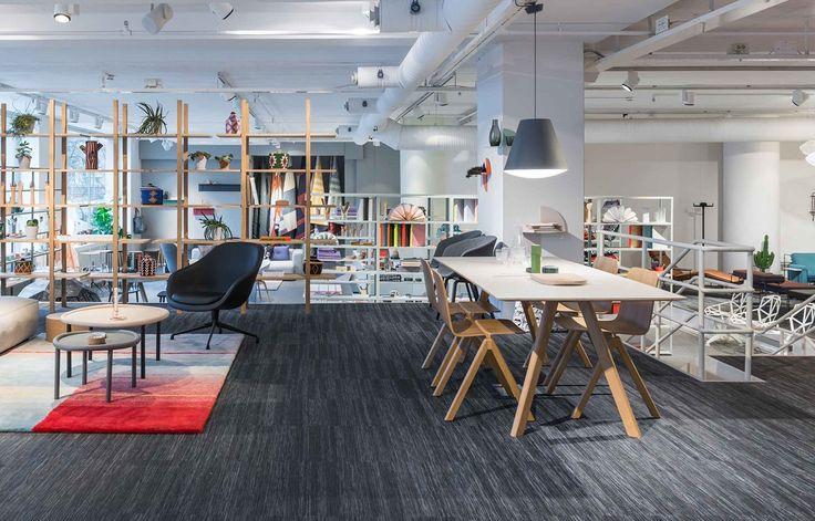 Bolon flooring in Gulled in Stockholm, Sweden