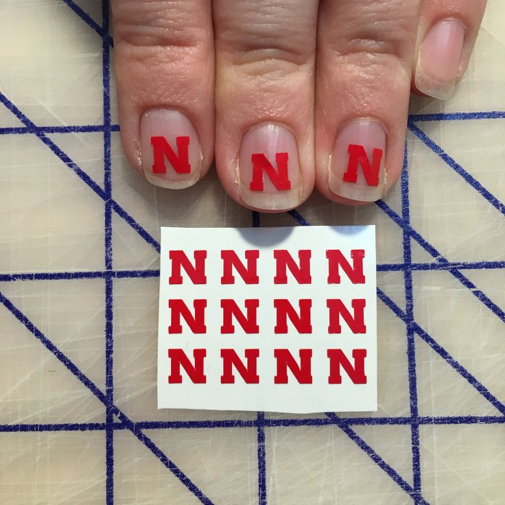 23 best Nebraska Cornhuskers Nails, Hair and Makeup images on ...