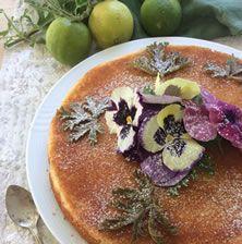 Αρωματικό κέικ με εξαιρετική υφή, απλό στην παρασκευή του και ταυτόχρονα πολύ εντυπωσιακό