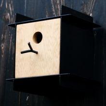 Vogelhuis zwart