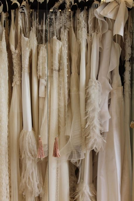 <3<3: Love Dresses, Hanging In, Blushes Champagne Cream, Dream Wardrobes, Ivory Color, Winter White, Hanging Frock, Cherries Ice Cream, Hangers