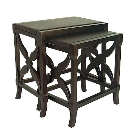 2 piece wayborn baron nesting table set from the find the perfect accent table event at joss and. Black Bedroom Furniture Sets. Home Design Ideas