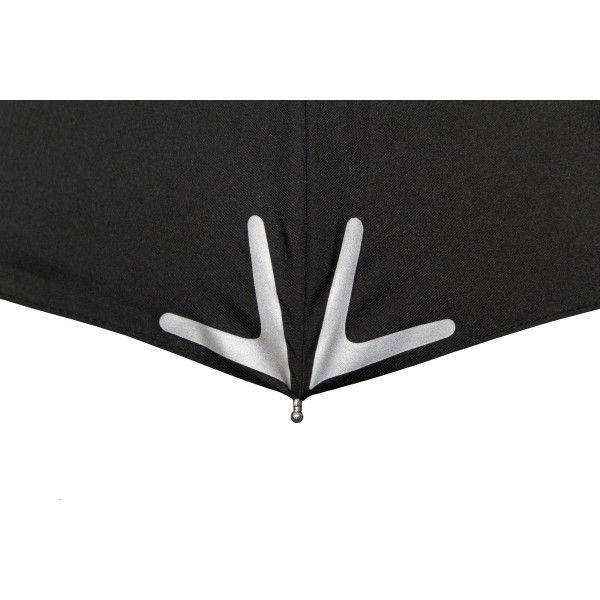 parapluie personnalisable avec bande réfléchissante.