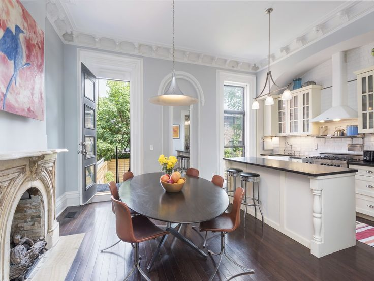 This classic Brooklyn brownstone in Bed Stuy close to Clinton Hill with marble fireplaces and central air is asking $2,750,000.