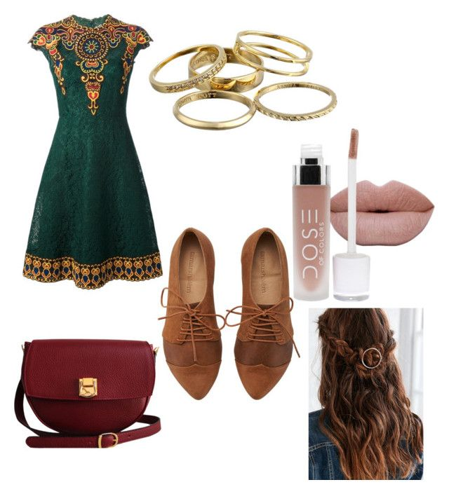 """""""Untitled #5"""" by mayapriskilla on Polyvore featuring Valentino, Kendra Scott, The Code, women's clothing, women, female, woman, misses and juniors"""