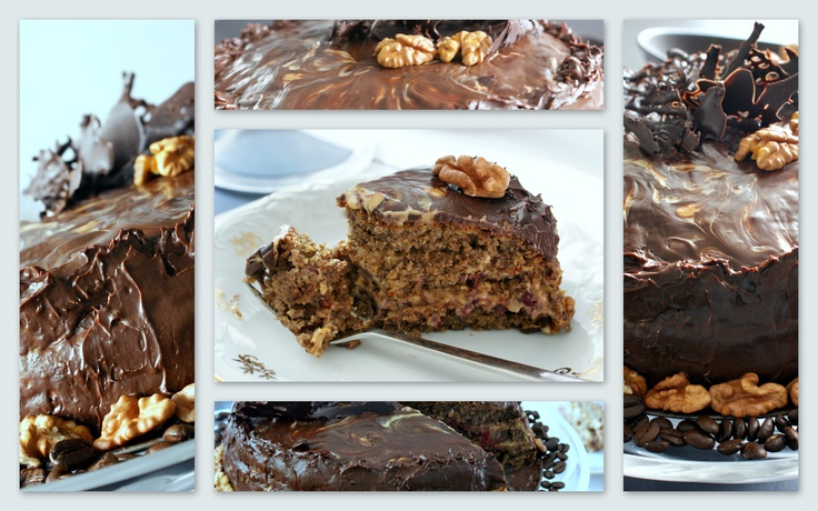 Chocolate, walnuts & coffee...  Something for the weekend;-)
