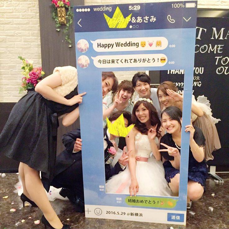 結婚式で使いたいSNSパネル|インスタグラム・ライン・youtube | marry[マリー]