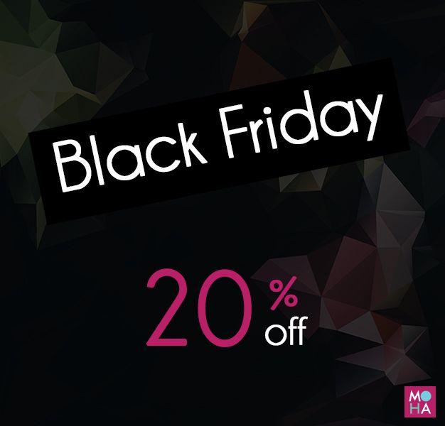 """Już jutro Black Friday i z tej okazji mamy dla Was niespodziankę! Na wpisanie hasła """"Black Friday"""" otrzymacie 20% zniżki na wszystkie torebki! Uwaga - na bony upominkowe też jest rabat! Jak szaleć to szaleć! Aaaaaa! Happy Black Friday!  __________________________ www.mohadesign.pl"""