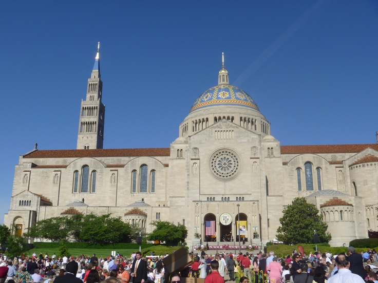 Basilica of the National Shrine of the Immaculate Conception - The Catholic University Of America Graduation 2012