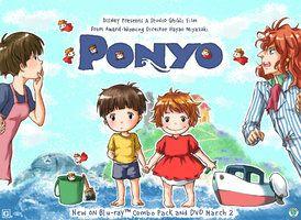 -- AT: Ariel and Ponyo -- by *Kurama-chan on deviantART