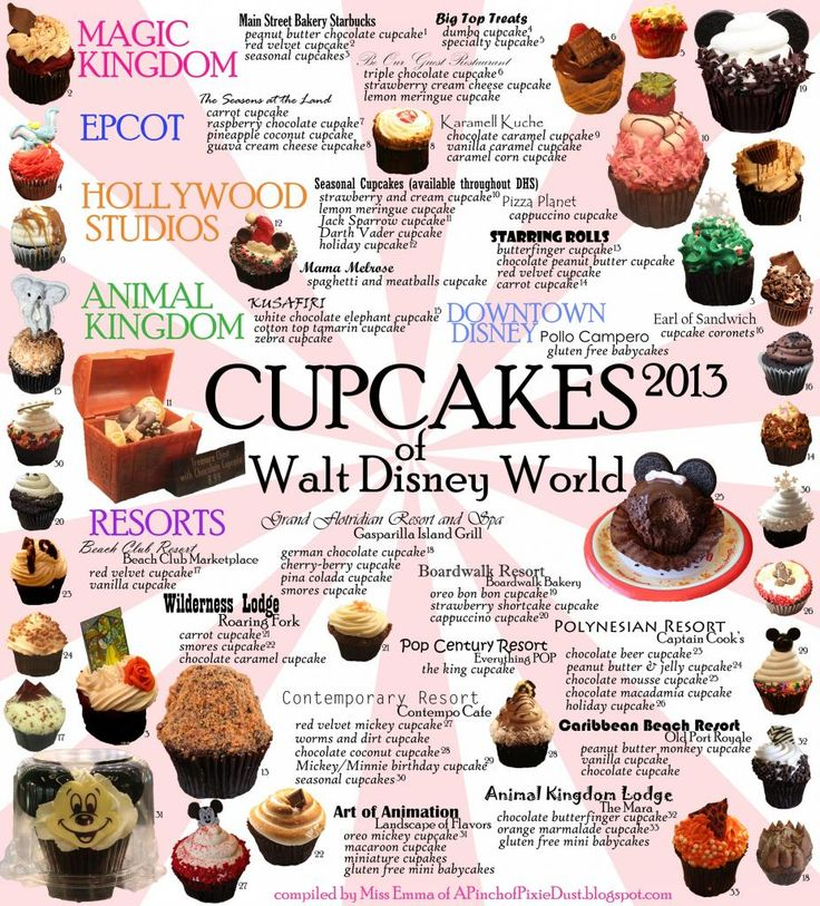 Hmmm...which @Disney cupcake to try on the next trip?  Check out my 2013 Disney World Cupcake Guide!