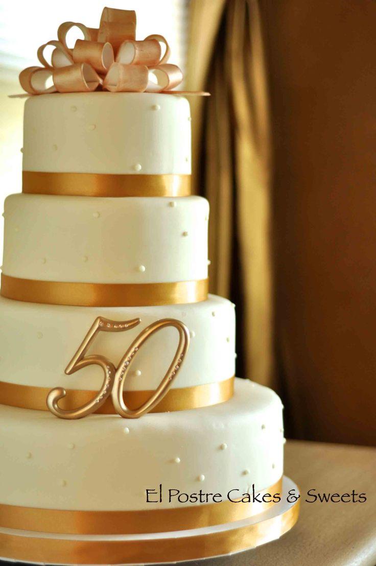 50ème anniversaire de mariage – Quel honneur d'être invité à faire un gâteau pour …   – 50th Anniversary
