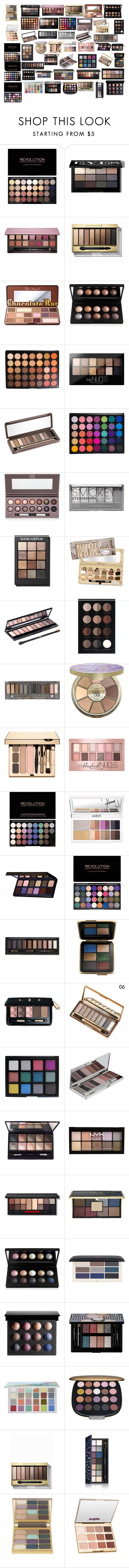 """göz farları"" by mervenara on Polyvore featuring moda, Bobbi Brown Cosmetics, Anastasia Beverly Hills, Max Factor, Too Faced Cosmetics, Morphe, Maybelline, Urban Decay, Laura Geller ve Boohoo"