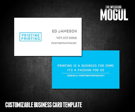 Basic Logo/Tagline Business Card: https://www.etsy.com/listing/125940298/logotagline-business-card-template