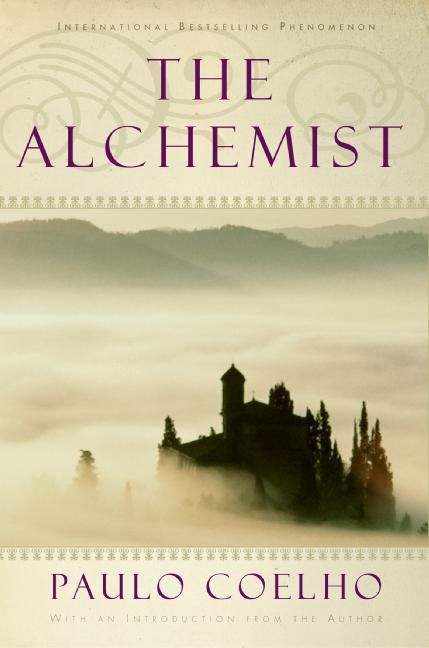 """The Alchemist. This book has changed my out look on life for the best❤  """"And, when you want something, all the universe conspires in helping you to achieve it... So, I love you because the entire universe conspired to help me find you."""""""