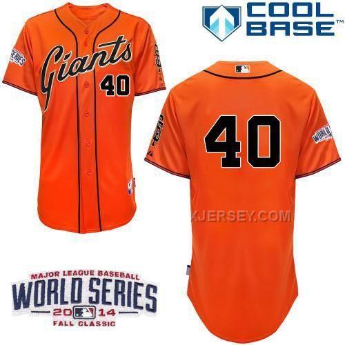 http://www.xjersey.com/giants-40-orange-bumgarber-2014-world-series-cool-base-jerseys.html GIANTS 40 ORANGE BUMGARBER 2014 WORLD SERIES COOL BASE JERSEYS Only $34.00 , Free Shipping!