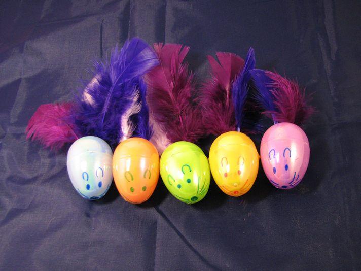 DIY Cat Toys: Easter Egg Mice:https://www.petcha.com/diy-cat-toys-easter-egg-mice/