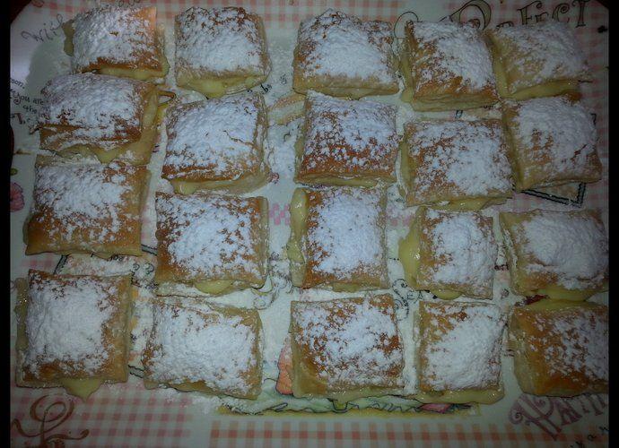 Miguelitos (de la Roda) para #Mycook http://www.mycook.es/cocina/receta/miguelitos-de-la-roda