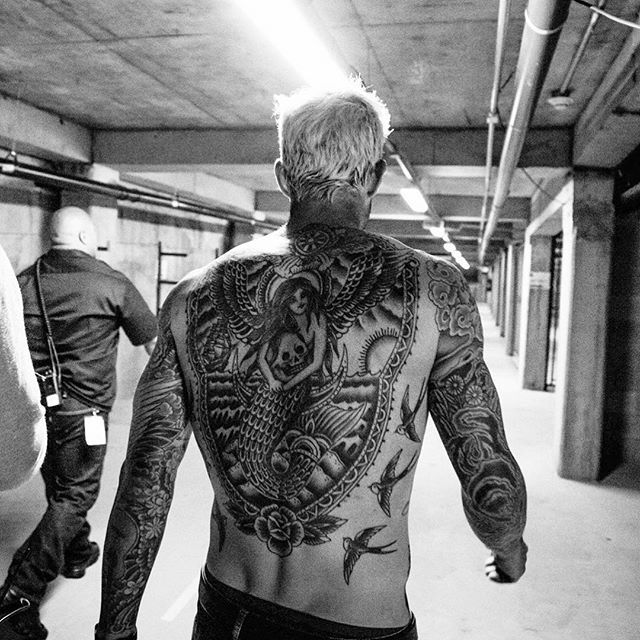 25 best ideas about adam levine tattoos on