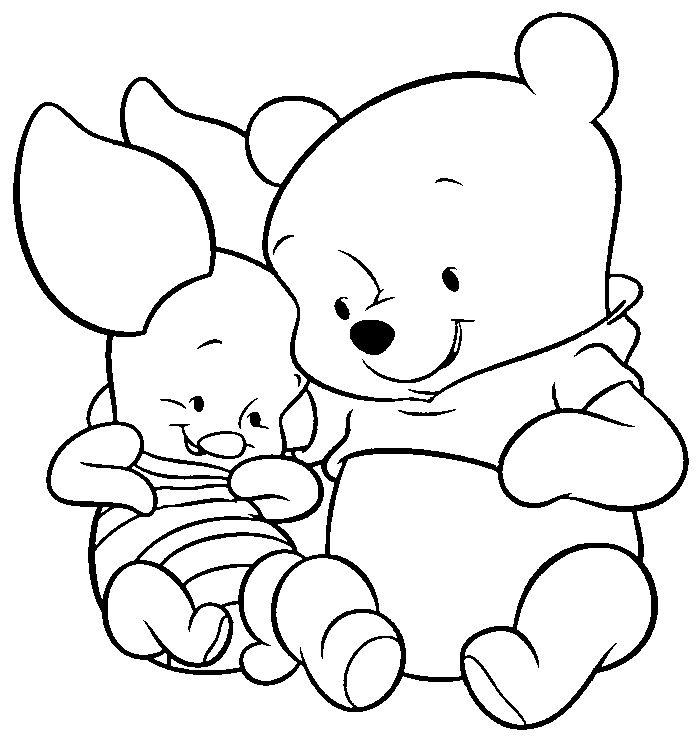 baby ferkel disney malvorlagen winnie the pooh decoupage ideen kindergarten ideen winnie the pooh malerei kunsthandwerk zeichnungen - Disney Baby Piglet Coloring Pages