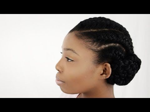 How To Do Goddess Braids With Weave Extensions On Natural Hair Supplies Tutorial Part 1