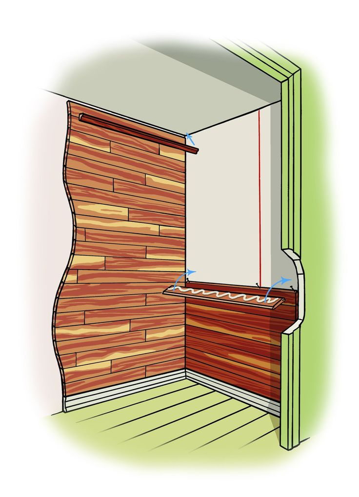 How To Line A Cedar Closet