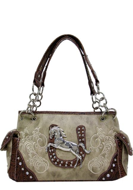 Western Purses And Handbags | Texas Leather Horse and Western Purses, Handbags and Shoulder Bags >