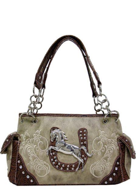 Western Purses And Handbags | Texas Leather Horse and Western Purses, Handbags and Shoulder Bags >