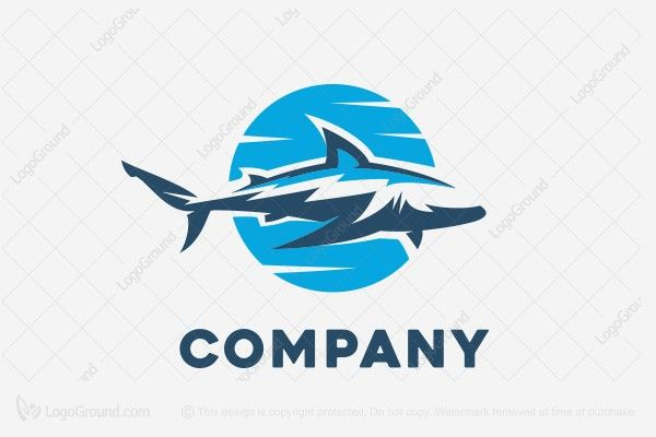 Logo for sale: White Shark Logo